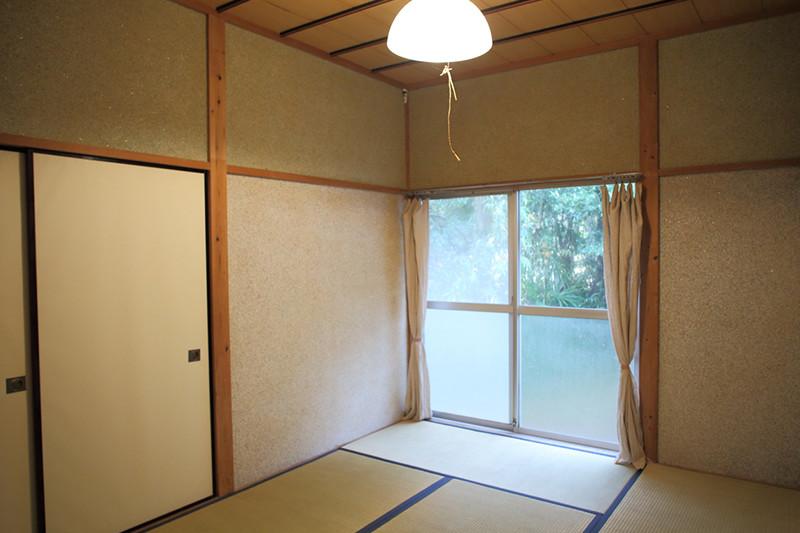 寝室「米の間」6畳の和室の写真