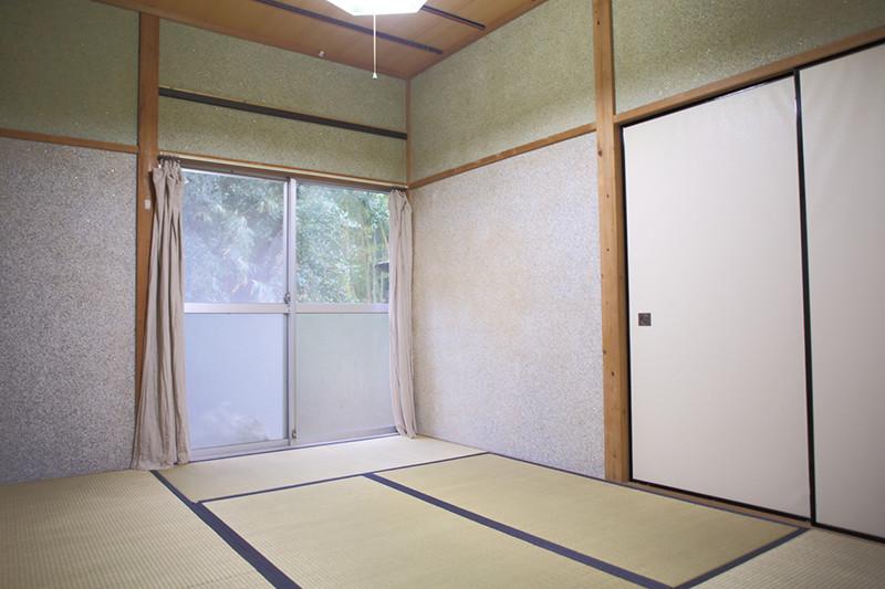 寝室「麦の間」6畳の和室の写真