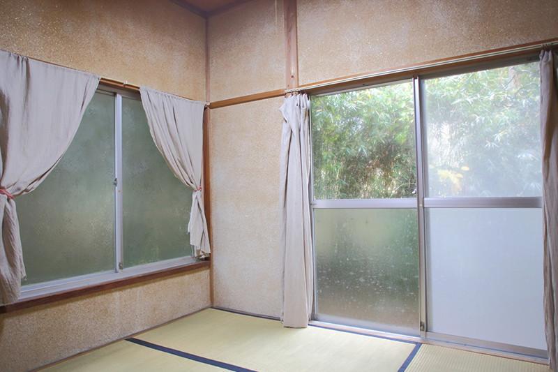 寝室「蕎麦の間」4畳半の和室の写真